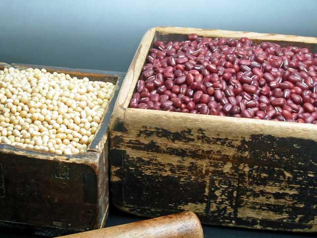 丹波大納言と備中白小豆